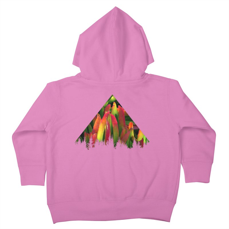 Succulent Pyramid Kids Toddler Zip-Up Hoody by sustici's Artist Shop