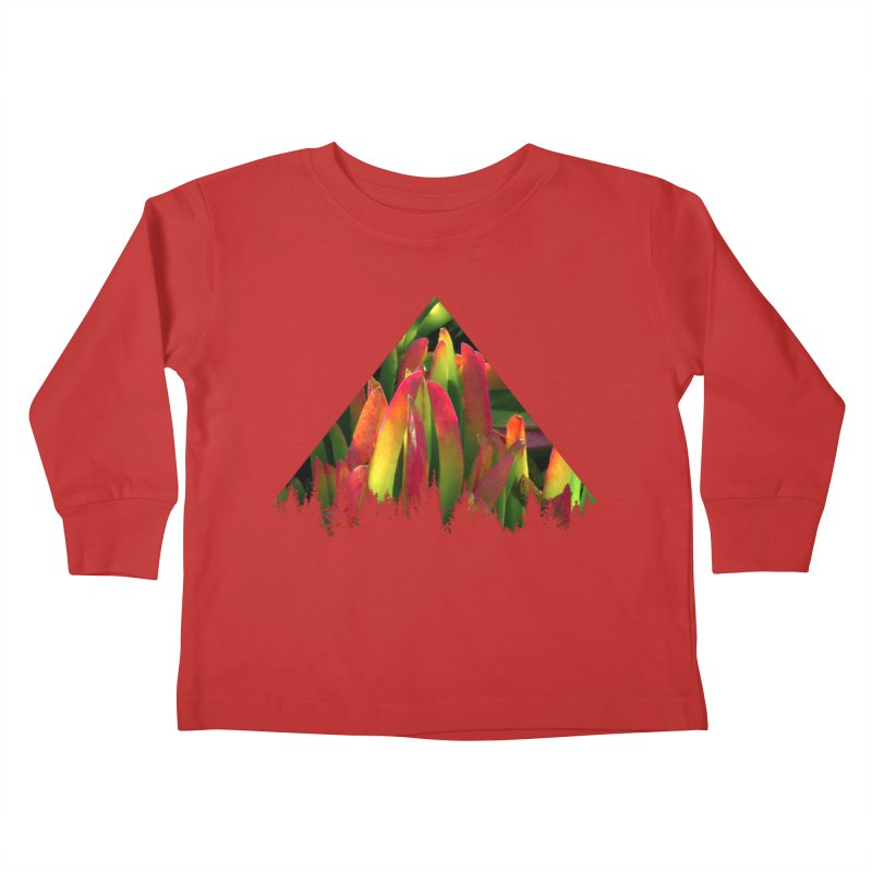 Succulent Pyramid Kids Toddler Longsleeve T-Shirt by sustici's Artist Shop