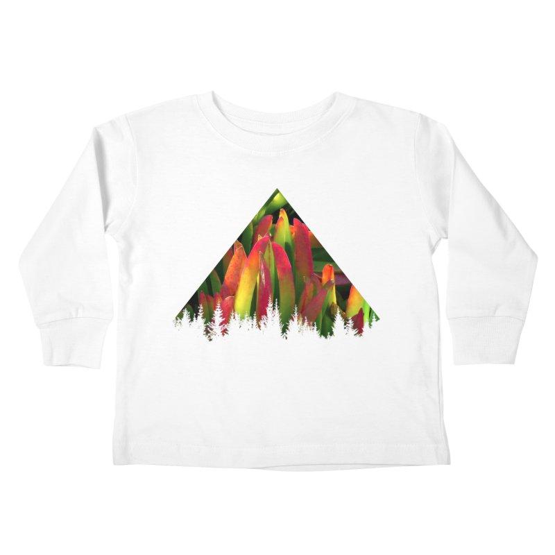 Succulent Pyramid Kids Toddler Longsleeve T-Shirt by sustici's Artist Shop