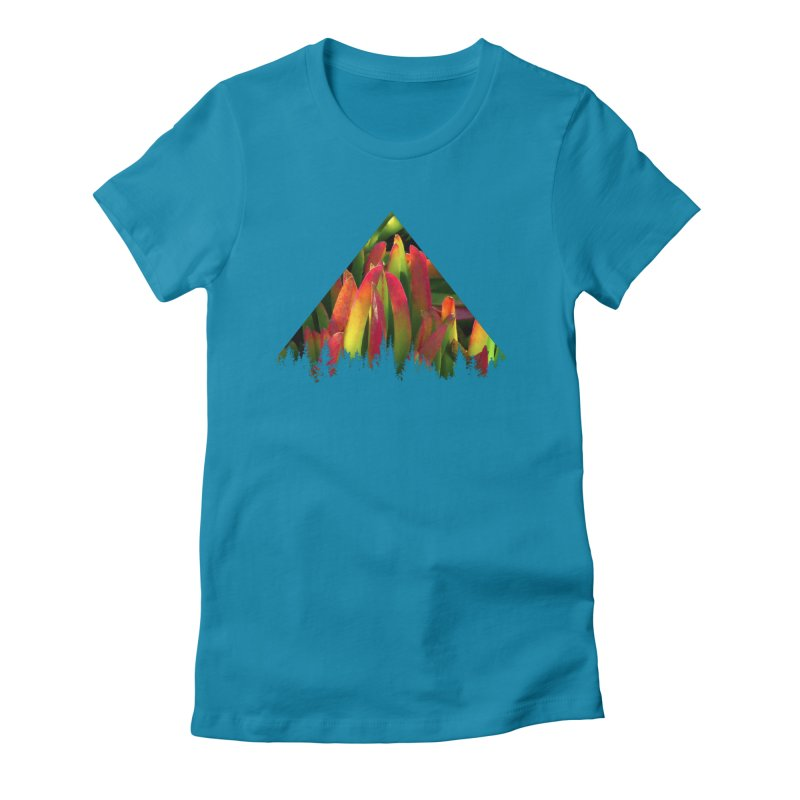 Succulent Pyramid Women's Fitted T-Shirt by sustici's Artist Shop