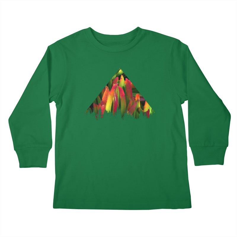 Succulent Pyramid Kids Longsleeve T-Shirt by sustici's Artist Shop