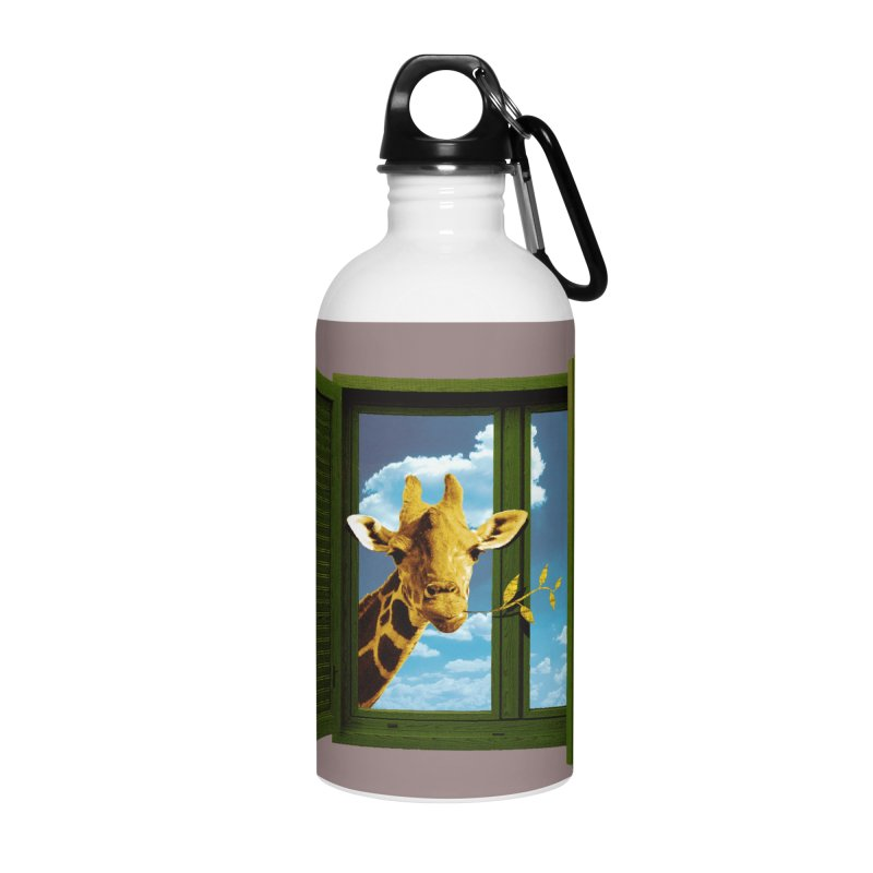 Good Morning! Accessories Water Bottle by sustici's Artist Shop