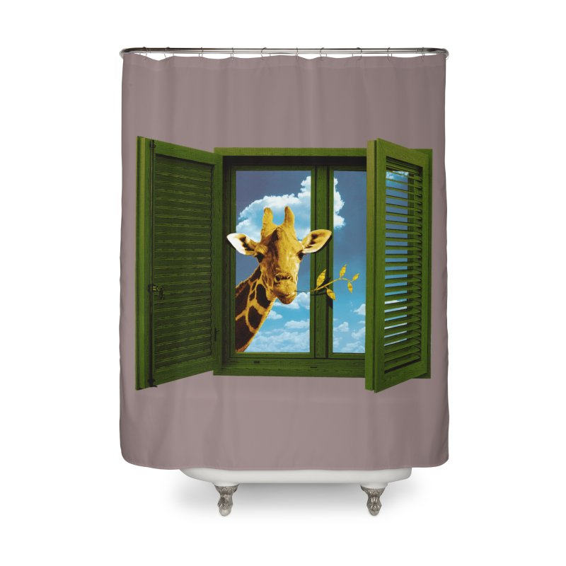 Good Morning! Home Shower Curtain by sustici's Artist Shop
