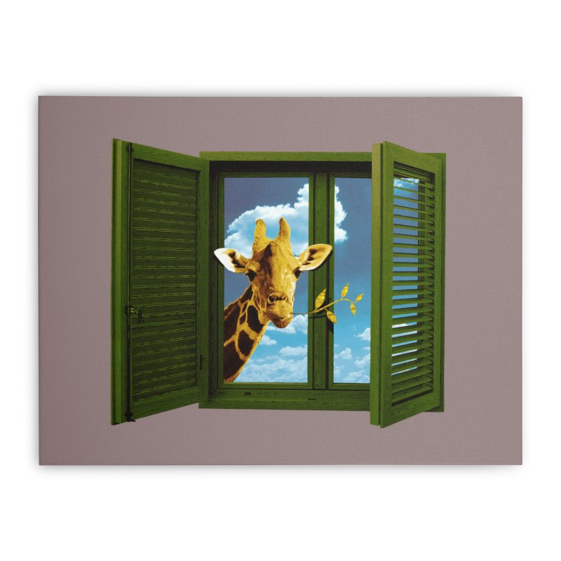 Good Morning! Home Stretched Canvas by sustici's Artist Shop