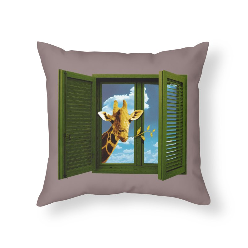Good Morning! Home Throw Pillow by sustici's Artist Shop