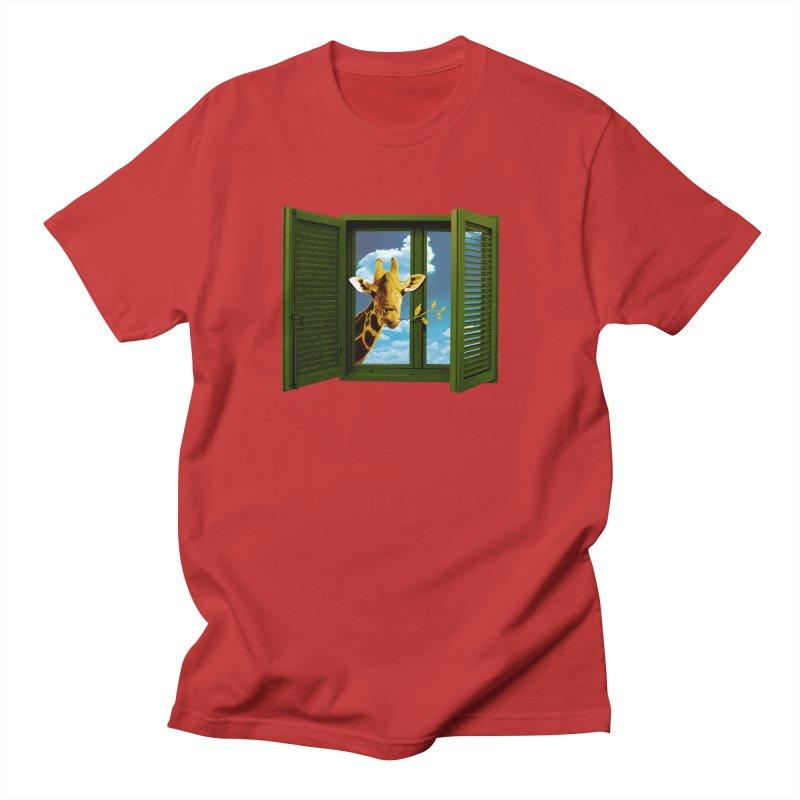 Good Morning! Women's Regular Unisex T-Shirt by sustici's Artist Shop