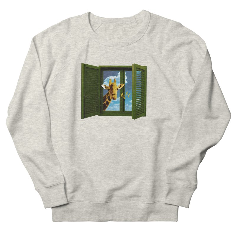 Good Morning! Men's French Terry Sweatshirt by sustici's Artist Shop