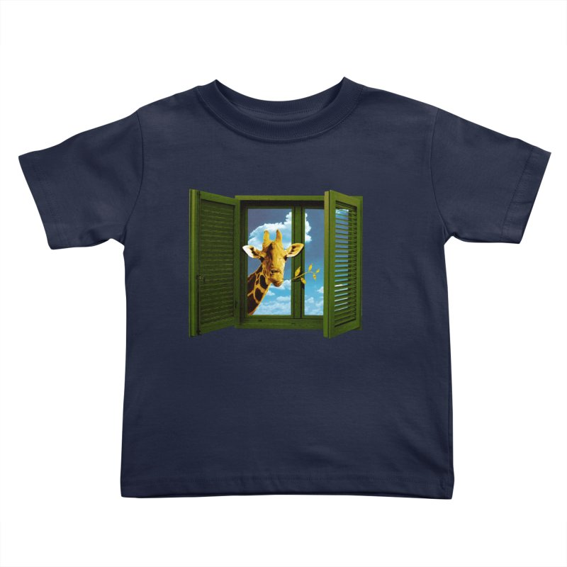 Good Morning! Kids Toddler T-Shirt by sustici's Artist Shop