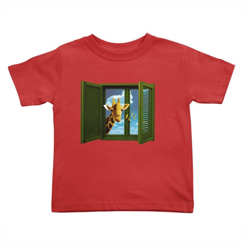 Good Morning! Kids Toddler T-Shirt by sustici's Artist Shop