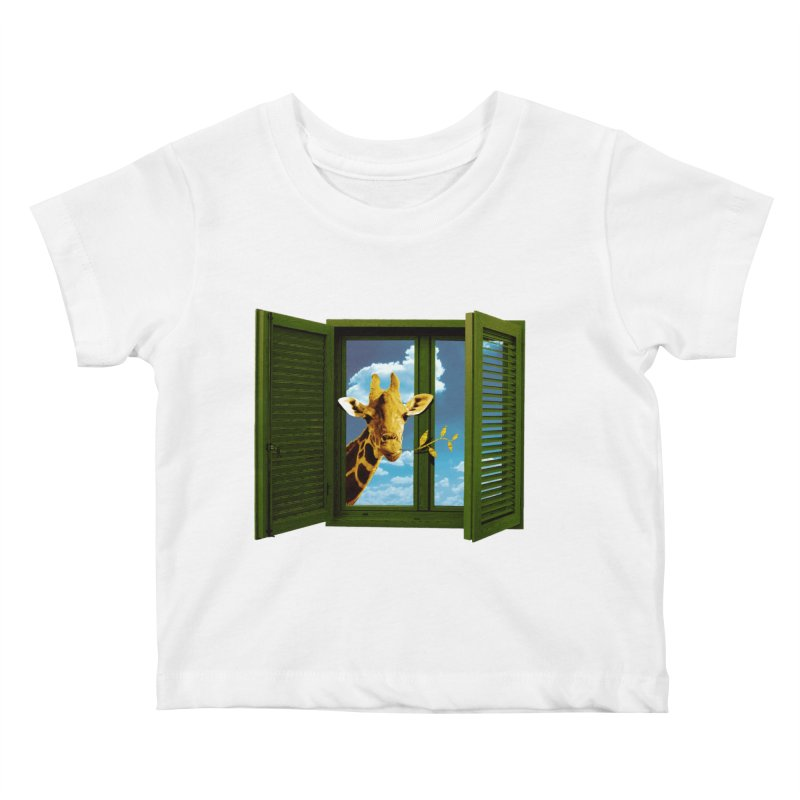 Good Morning! Kids Baby T-Shirt by sustici's Artist Shop