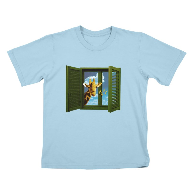 Good Morning! Kids T-Shirt by sustici's Artist Shop