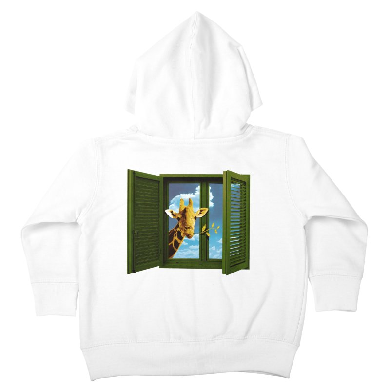 Good Morning! Kids Toddler Zip-Up Hoody by sustici's Artist Shop