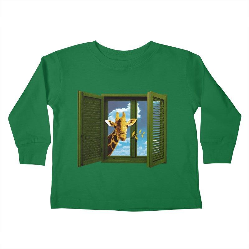 Good Morning! Kids Toddler Longsleeve T-Shirt by sustici's Artist Shop