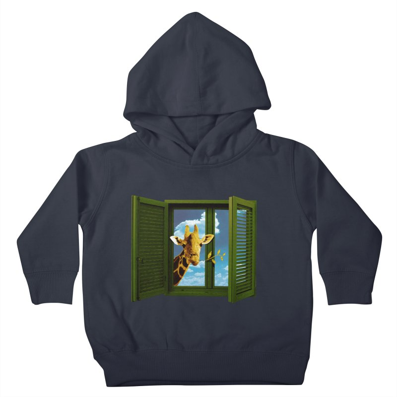 Good Morning! Kids Toddler Pullover Hoody by sustici's Artist Shop
