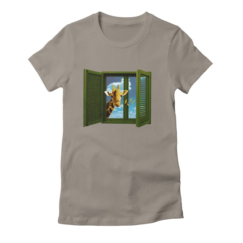 Good Morning! Women's Fitted T-Shirt by sustici's Artist Shop
