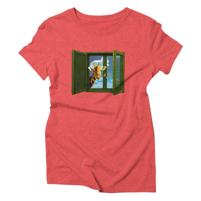 Good Morning! Women's Triblend T-Shirt by sustici's Artist Shop