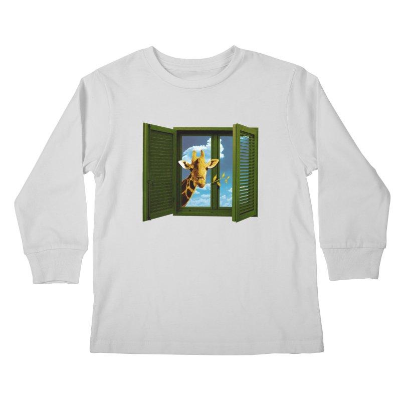 Good Morning! Kids Longsleeve T-Shirt by sustici's Artist Shop