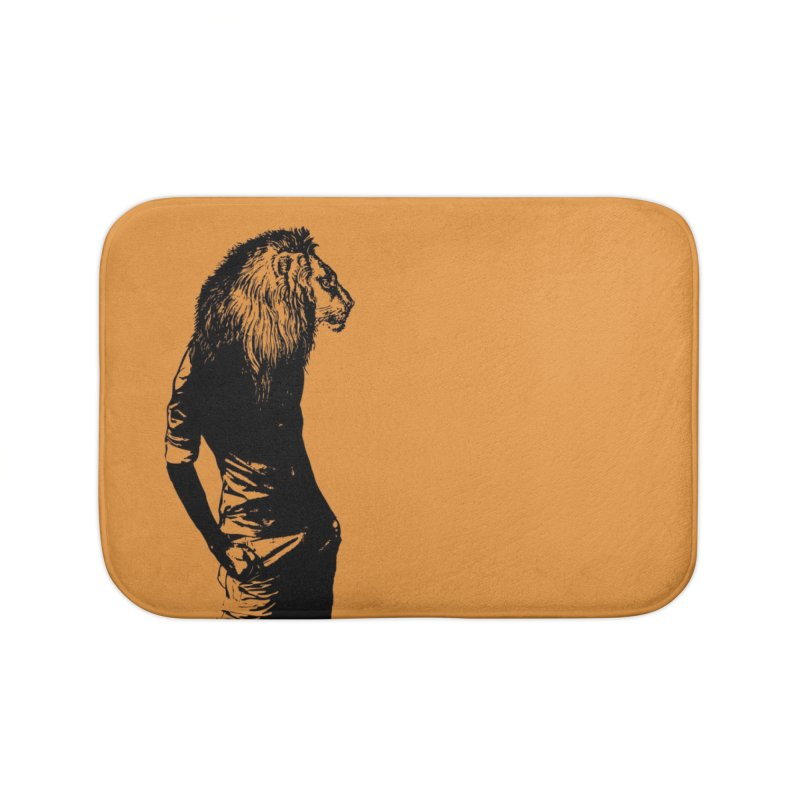 EVERY MORNING IN AFRICA, A GAZELLE WAKES UP Home Bath Mat by sustici's Artist Shop
