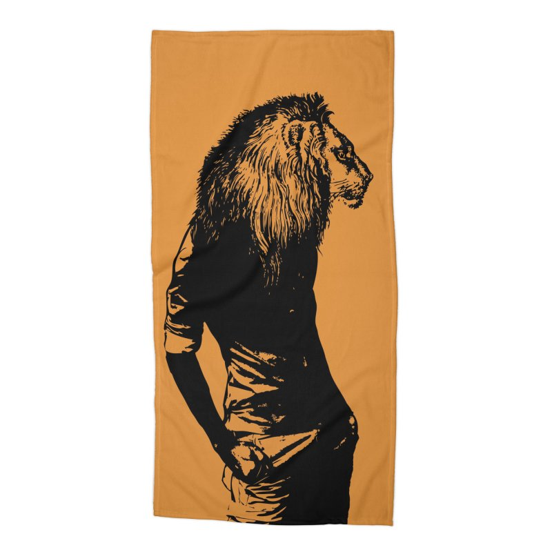 EVERY MORNING IN AFRICA, A GAZELLE WAKES UP Accessories Beach Towel by sustici's Artist Shop