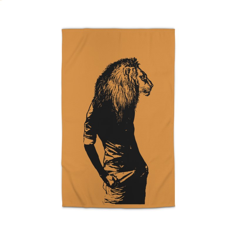 EVERY MORNING IN AFRICA, A GAZELLE WAKES UP Home Rug by sustici's Artist Shop