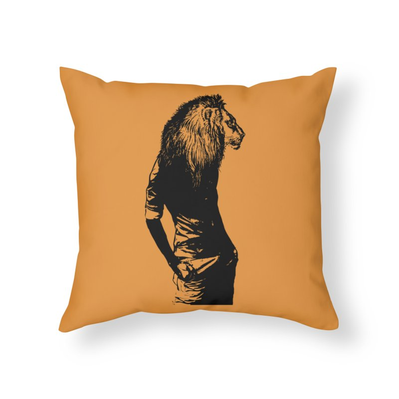 EVERY MORNING IN AFRICA, A GAZELLE WAKES UP Home Throw Pillow by sustici's Artist Shop