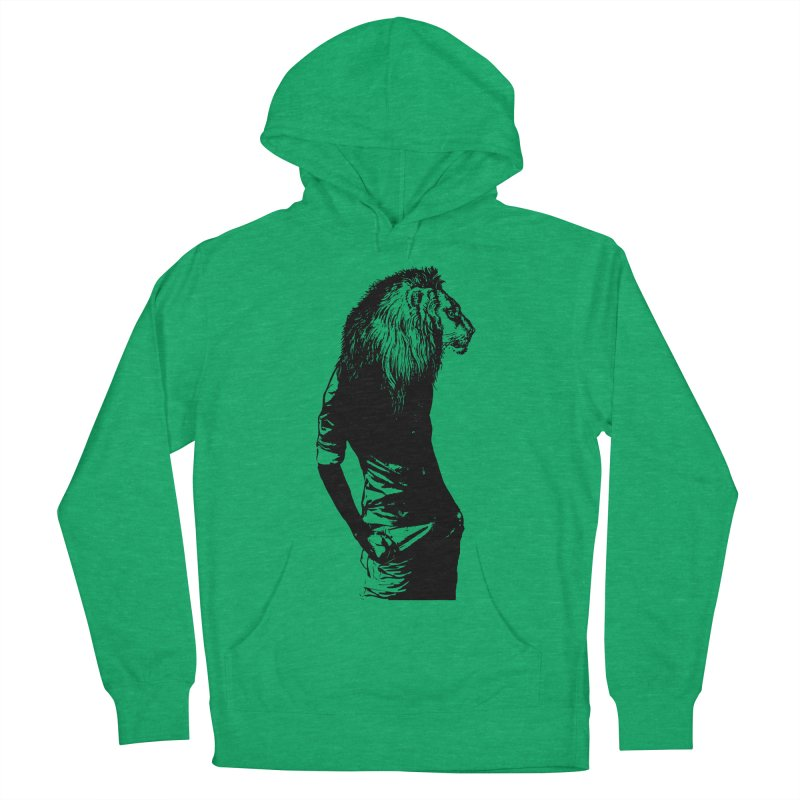 EVERY MORNING IN AFRICA, A GAZELLE WAKES UP Men's Pullover Hoody by sustici's Artist Shop