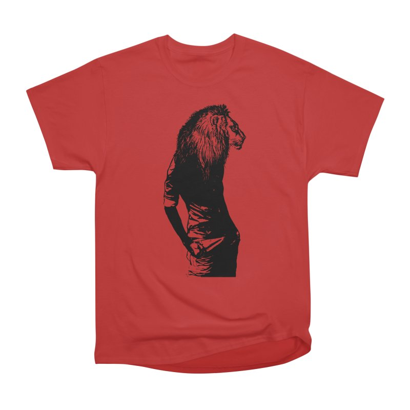 EVERY MORNING IN AFRICA, A GAZELLE WAKES UP Women's Heavyweight Unisex T-Shirt by sustici's Artist Shop
