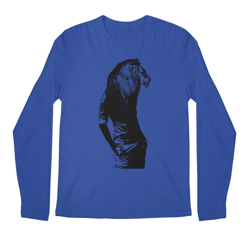 EVERY MORNING IN AFRICA, A GAZELLE WAKES UP Men's Regular Longsleeve T-Shirt by sustici's Artist Shop