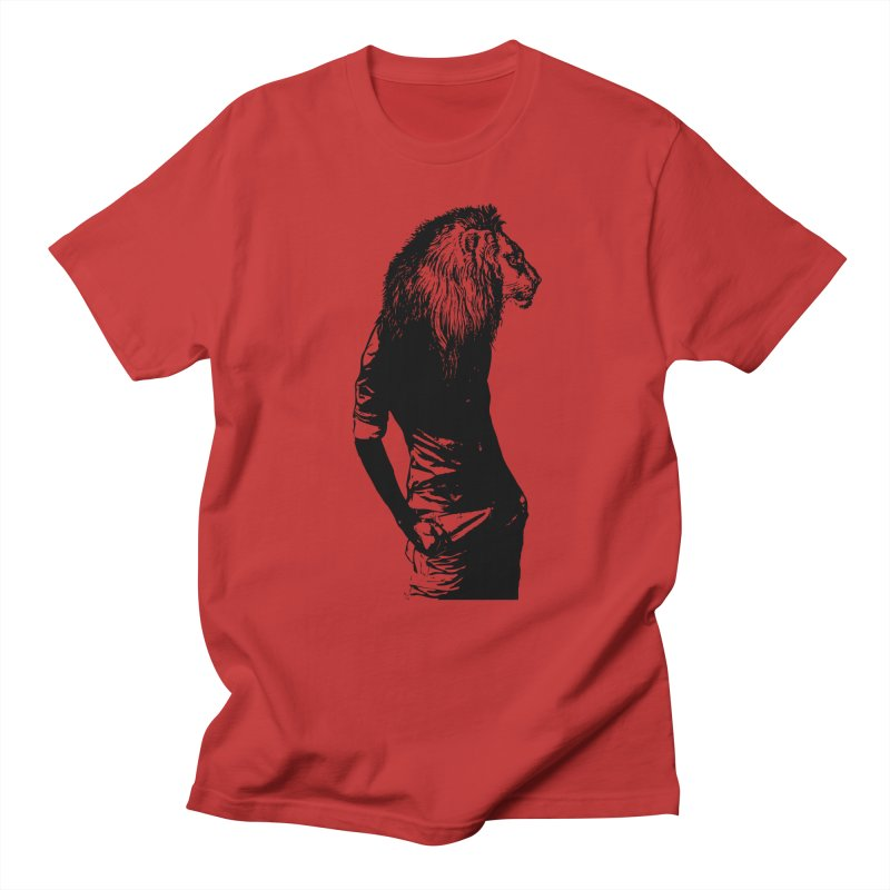 EVERY MORNING IN AFRICA, A GAZELLE WAKES UP Men's T-Shirt by sustici's Artist Shop
