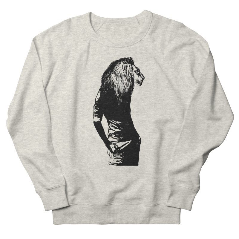 EVERY MORNING IN AFRICA, A GAZELLE WAKES UP Women's French Terry Sweatshirt by sustici's Artist Shop