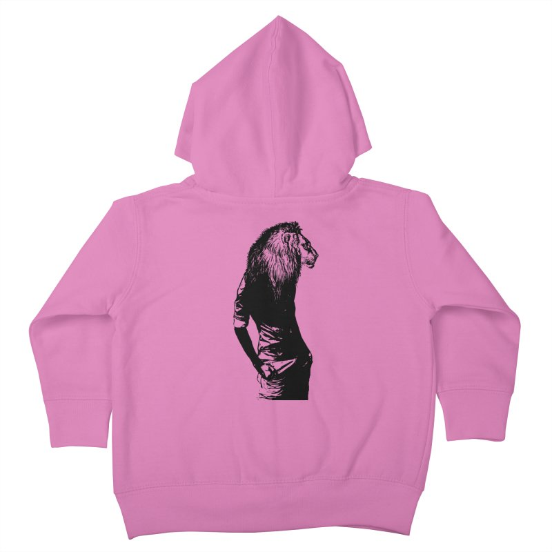 EVERY MORNING IN AFRICA, A GAZELLE WAKES UP Kids Toddler Zip-Up Hoody by sustici's Artist Shop