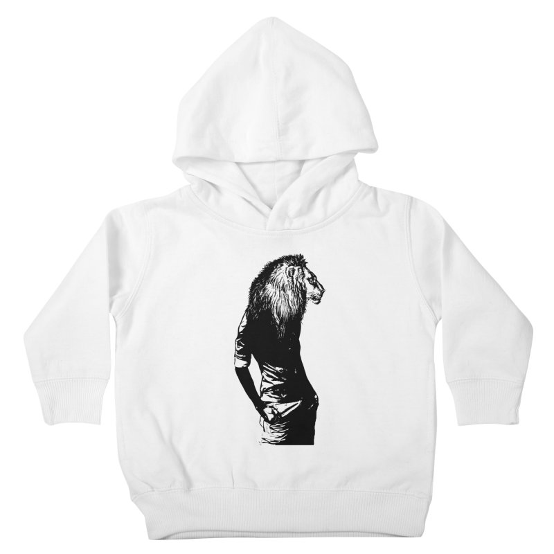 EVERY MORNING IN AFRICA, A GAZELLE WAKES UP Kids Toddler Pullover Hoody by sustici's Artist Shop