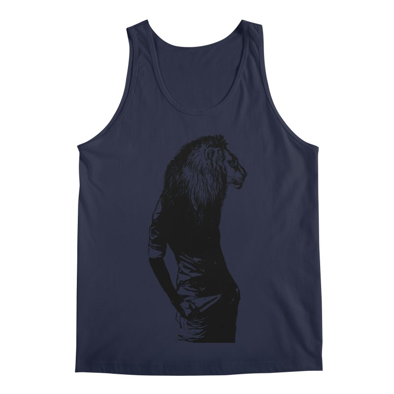 EVERY MORNING IN AFRICA, A GAZELLE WAKES UP Men's Regular Tank by sustici's Artist Shop