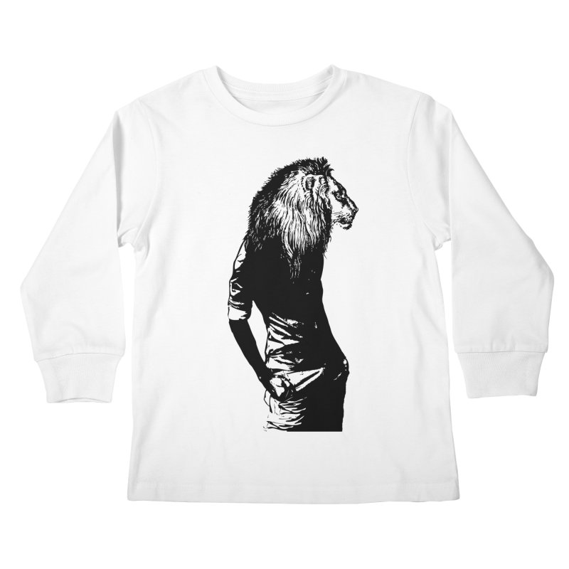 EVERY MORNING IN AFRICA, A GAZELLE WAKES UP Kids Longsleeve T-Shirt by sustici's Artist Shop