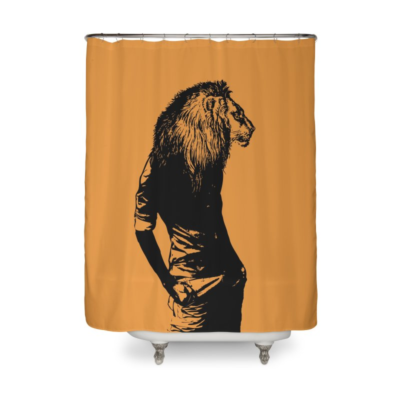 EVERY MORNING IN AFRICA, A GAZELLE WAKES UP Home Shower Curtain by sustici's Artist Shop