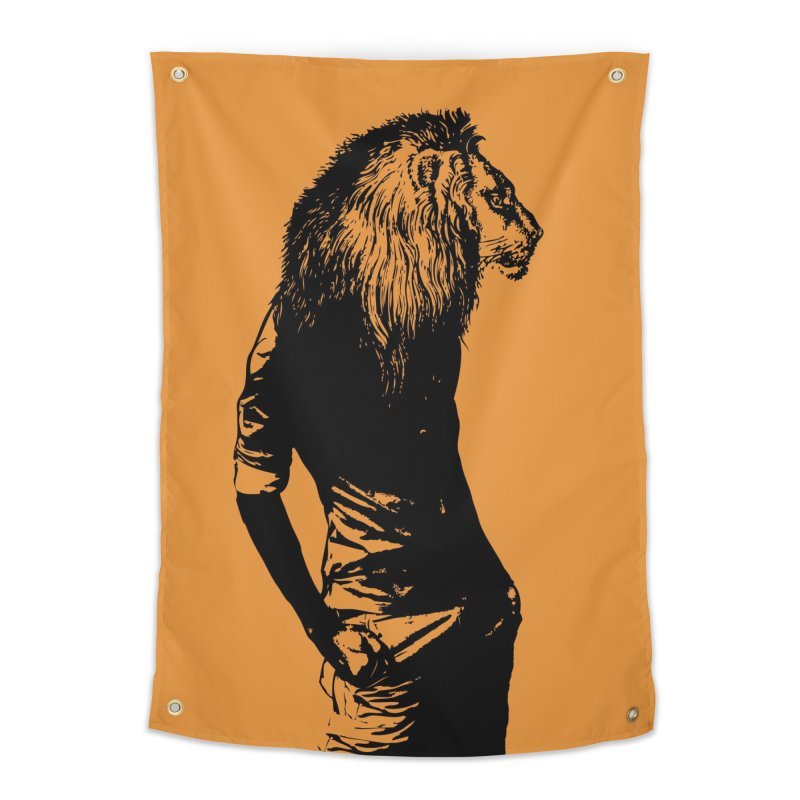 EVERY MORNING IN AFRICA, A GAZELLE WAKES UP Home Tapestry by sustici's Artist Shop