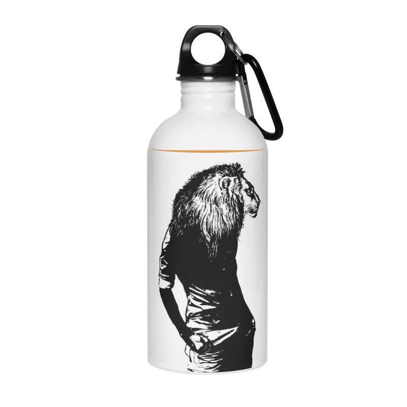 EVERY MORNING IN AFRICA, A GAZELLE WAKES UP Accessories Water Bottle by sustici's Artist Shop