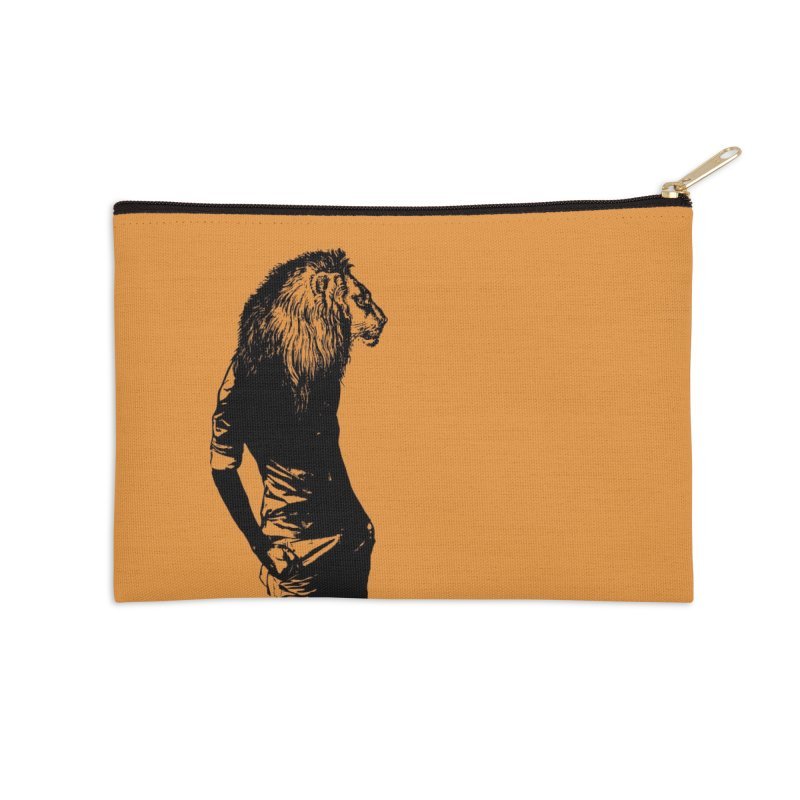 EVERY MORNING IN AFRICA, A GAZELLE WAKES UP Accessories Zip Pouch by sustici's Artist Shop
