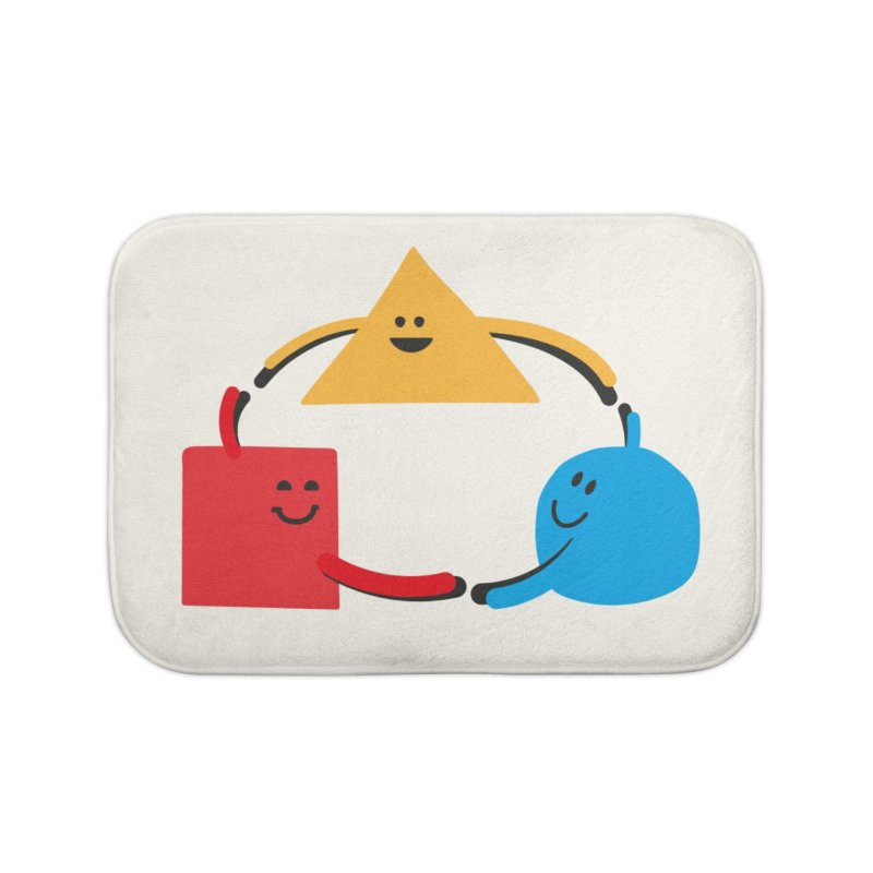 THE DANCE OF DIVERSITY Home Bath Mat by sustici's Artist Shop