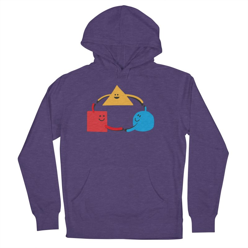 THE DANCE OF DIVERSITY Women's French Terry Pullover Hoody by sustici's Artist Shop
