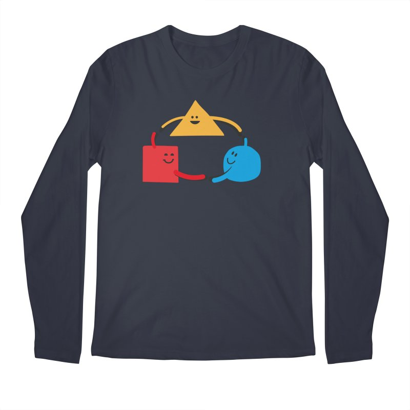 THE DANCE OF DIVERSITY Men's Regular Longsleeve T-Shirt by sustici's Artist Shop