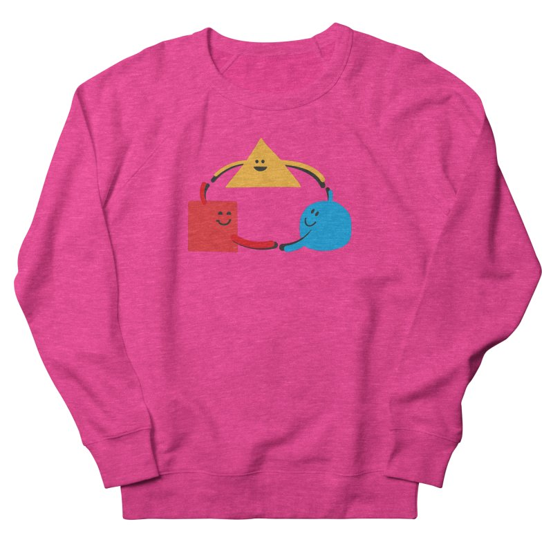 THE DANCE OF DIVERSITY Women's French Terry Sweatshirt by sustici's Artist Shop
