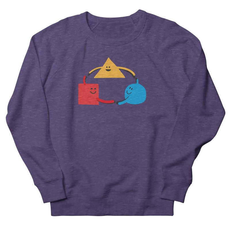 THE DANCE OF DIVERSITY Men's French Terry Sweatshirt by sustici's Artist Shop