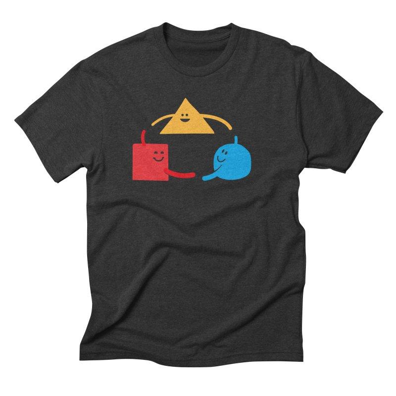THE DANCE OF DIVERSITY Men's Triblend T-Shirt by sustici's Artist Shop