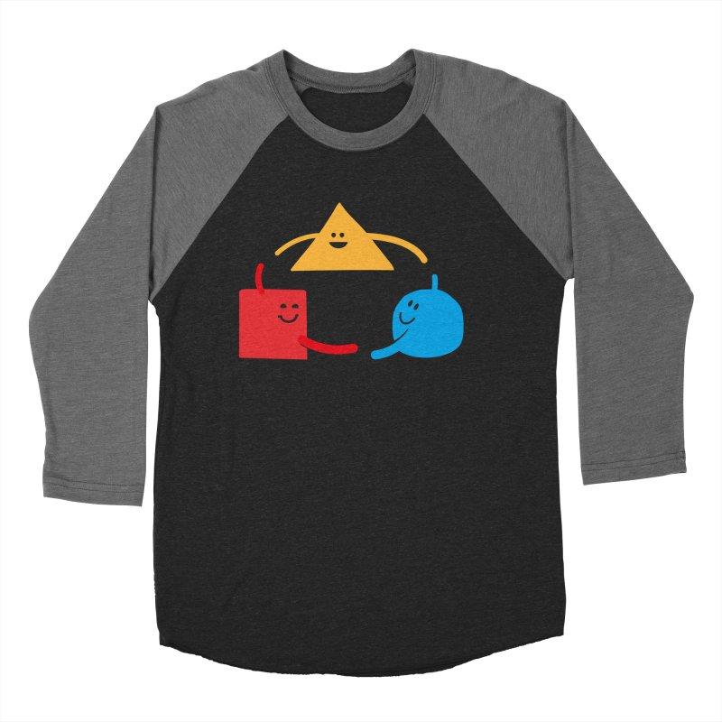 THE DANCE OF DIVERSITY Men's Baseball Triblend Longsleeve T-Shirt by sustici's Artist Shop