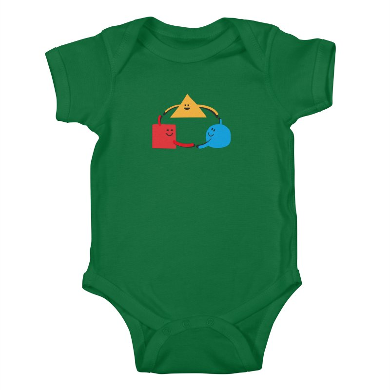 THE DANCE OF DIVERSITY Kids Baby Bodysuit by sustici's Artist Shop