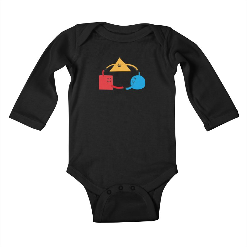 THE DANCE OF DIVERSITY Kids Baby Longsleeve Bodysuit by sustici's Artist Shop