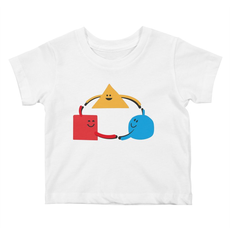 THE DANCE OF DIVERSITY Kids Baby T-Shirt by sustici's Artist Shop