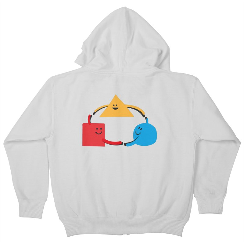 THE DANCE OF DIVERSITY Kids Zip-Up Hoody by sustici's Artist Shop