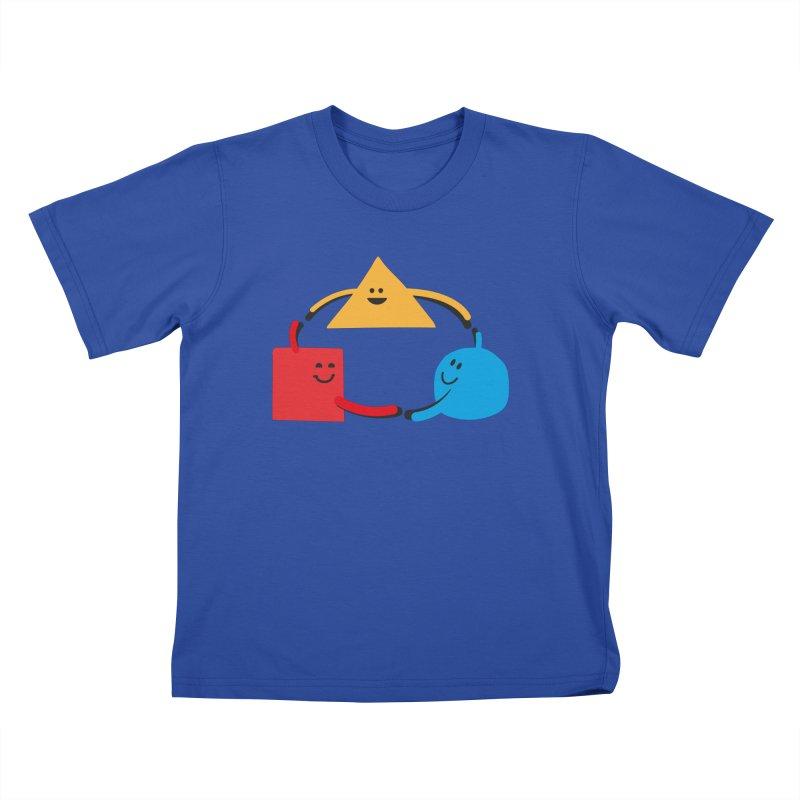 THE DANCE OF DIVERSITY Kids T-Shirt by sustici's Artist Shop